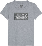 Juicy Couture Studded cotton T-shirt 4-14 years
