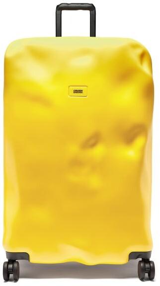 CRASH BAGGAGE Icon 79cm Suitcase - Yellow