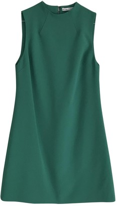 Alice + Olivia Green Dress for Women