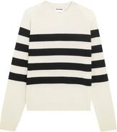 Jil Sander Striped Cashmere Sweater - FR42