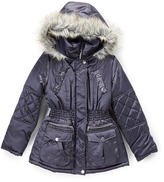 Hawke & Co Sharkskin Stadium Jacket - Girls