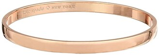 Kate Spade Idiom Bangles Stop and Smell The Roses - Solid (Rose Gold) Bracelet