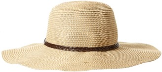 SunLily Women's Roll-n-go Sun Hat brown and Beige One Size