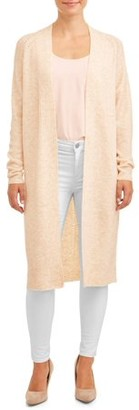 Time and Tru Duster Cardigan Women's