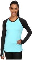 SkirtSports Skirt Sports Peek-A-Boo Long Sleeve Top