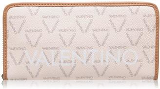 Mario Valentino Logo Large Zip Around Purse
