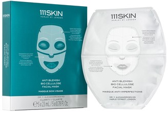111SKIN Anti Blemish Bio Cellulose Facial Masks