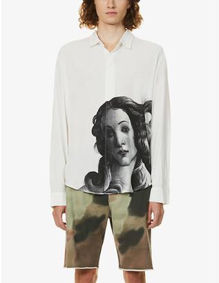 Stussy Venus print woven shirt
