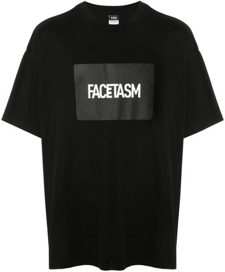 Facetasm logo printed T-shirt