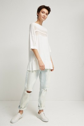 French Connection Laila Ladder Knit Jumper