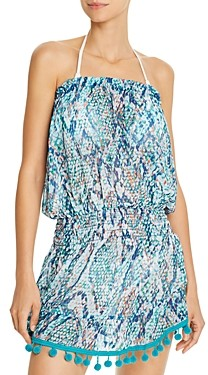 Ramy Brook Viper Printed Marcie Dress Swim Cover-Up