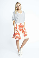 Karen Zambos Coral Virginia Skirt