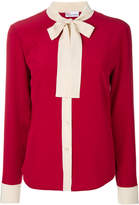 RED Valentino bow detail blouse