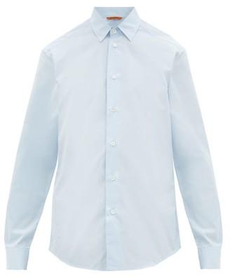 Barena Venezia - Coppi Cotton-poplin Shirt - Mens - Light Blue