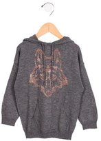 Zadig & Voltaire Girls' Wool Embellished Sweater