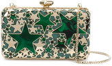 Elie Saab stars clutch bag - women - metal - One Size