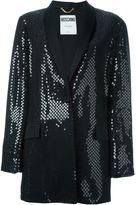 Moschino sequin embellished tuxedo jacket