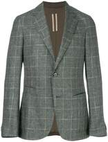 Z Zegna plaid patterned blazer
