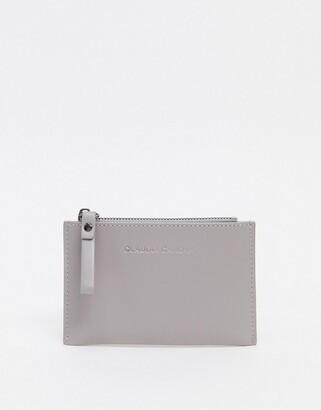 Claudia Canova card holder with photo window in grey