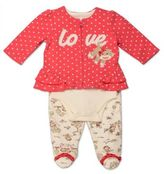 Baby Starters Sock Monkey 3-Piece Toile Pant, Cardigan and Bodysuit Take Me Home Set
