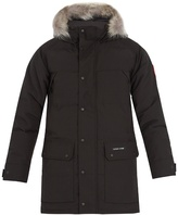 Canada Goose Emory fur-trimmed down coat