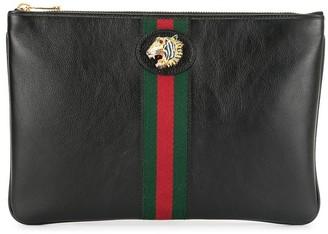 Gucci Rajah zipped pouch