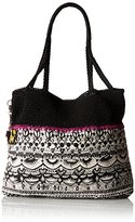 Sakroots Artist Circle Crochet Shopper Tote