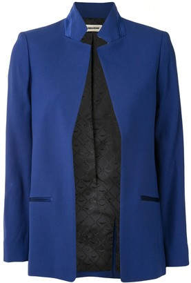 Zadig & Voltaire Inverted-Lapel Blazer