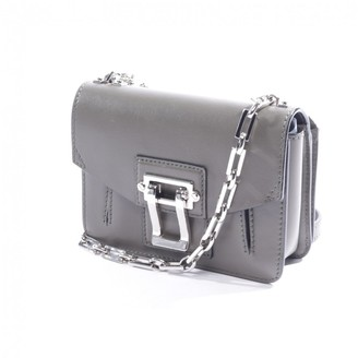 Proenza Schouler Small Courier Green Leather Clutch bags