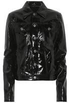 Helmut Lang Faux leather jacket