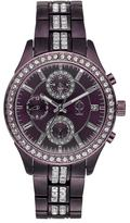 JLO by Jennifer Lopez Women's Marilyn Crystal Watch