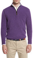 Peter Millar Artisan Cashmere Quarter-Zip Sweater