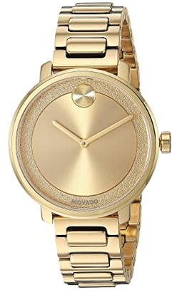 Movado Bold - 3600502 (Yellow Gold PVD) Dress Watches