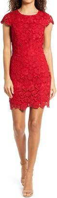 Lulus Romance Language Backless Lace Body-Con Dress