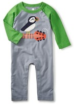 Tea Collection Infant Boy's Puffin Punk Romper