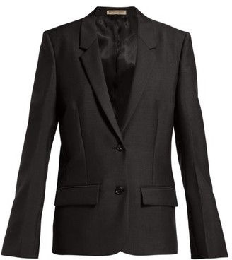 Bottega Veneta Wool Blazer - Womens - Black