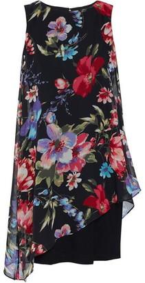 Gina Bacconi Esra Dress With Overlay