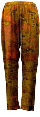 Carmen Molina Pink Leopard Silk Joy Pants