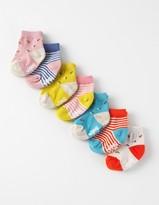Boden Girls 7 Pack Sock Box