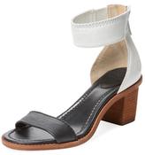 Frye Brielle Two-Piece Leather Sandal