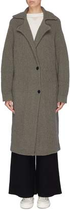 Oyuna Wool-cashmere boucle coat