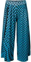 Lala Berlin printed pleated culottes - women - Wool - L