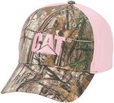 CAT Tree & Pink Trademark Baseball Cap