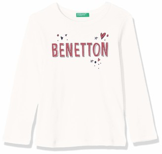 Benetton Girl's Basic G1 Kniited Tank Top Kniited Tank Top