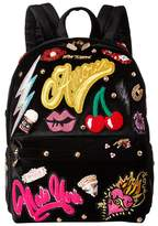 Betsey Johnson Baby's Got Back Embellished Backpack