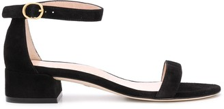Stuart Weitzman Nudist June block-heel sandals
