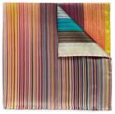 Paul Smith 'Mixed Stripe' silk pocket square