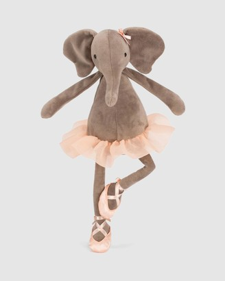 Jellycat Grey Animals Dancing Darcey Elephant - Size One Size at The Iconic