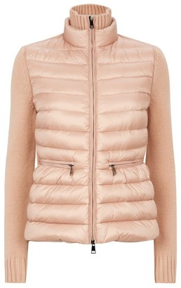 Moncler Knitted Gilet-Style Cardigan