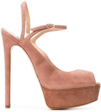 Casadei Strappy Platform Sandals